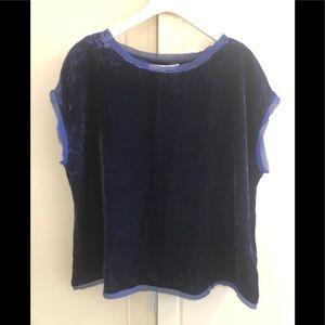 Boden velvet t-shirt - US/12 - UK/16 - cute!